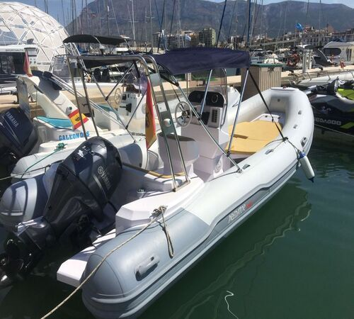 barco predator alquiler barco denia