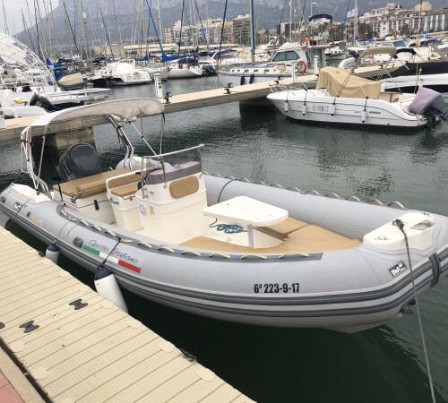 alquiler barco spirito italiano denia mediterraneo