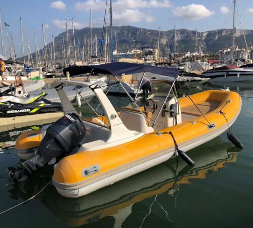 alquiler barco rat penat denia mediterraneo