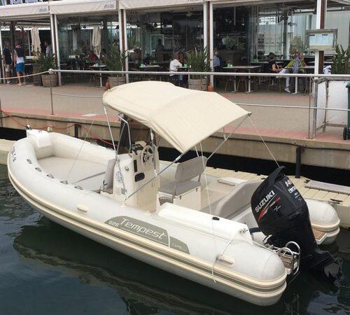 Alquiler de barco Estemare en Denia