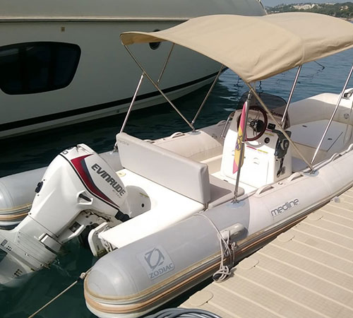 barco medline 580 alquiler barco denia